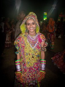 Fête de Navratri en Inde