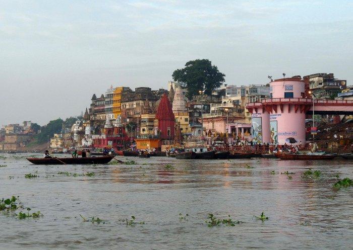Varanasi au bord du Gange sacré