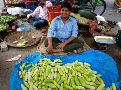Vendeur de concombres