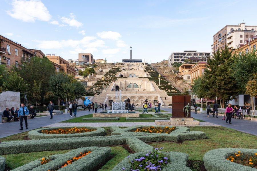 Cascade, monument à Erevan