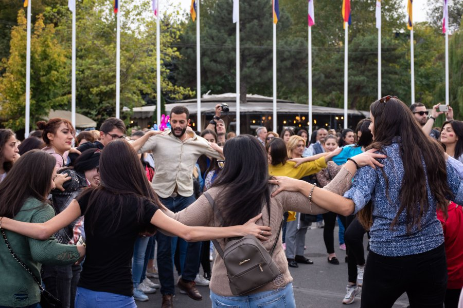 Fête à Erevan, Arménie