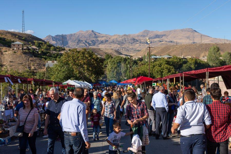 Fête du vin à Areni, Arménie