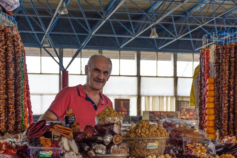 Gum Market, Yerevan, Arménie