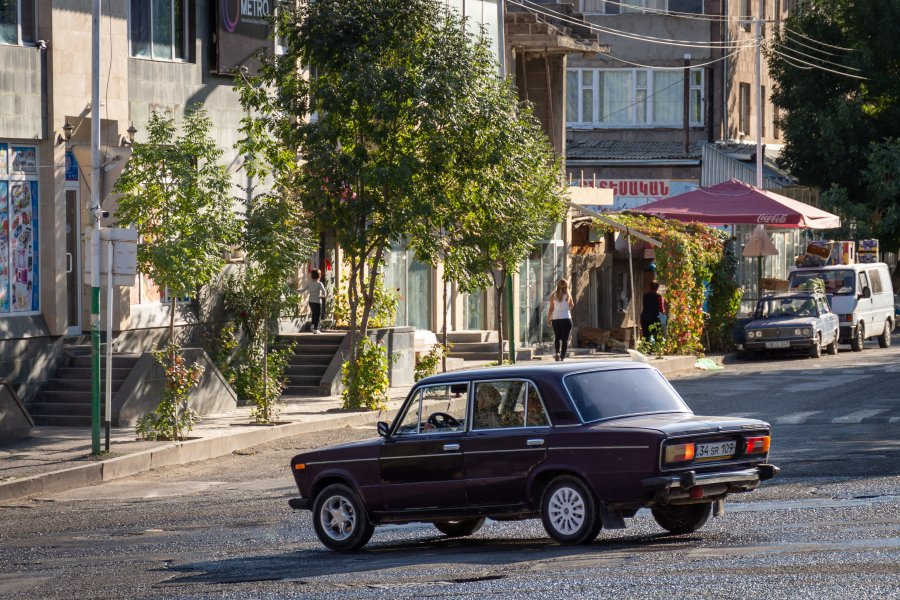 Lada à Edghegnadzor en Arménie