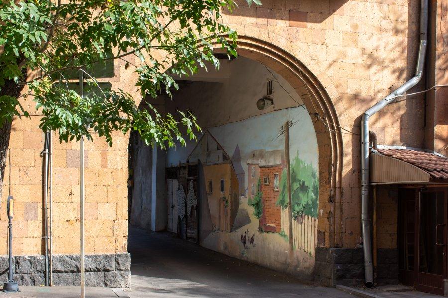 Fresques à Yerevan