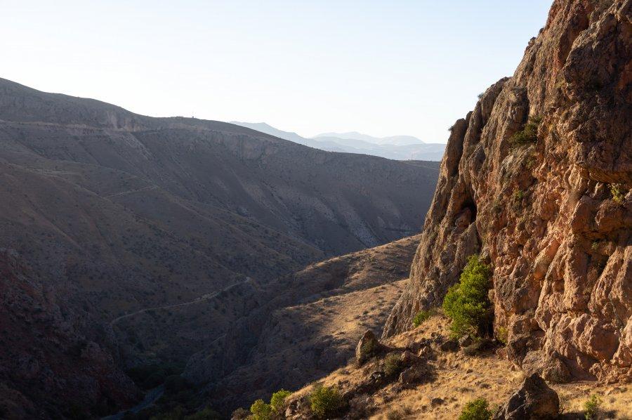 Paysages près de Yeghegnadzor et Noravank, Arménie