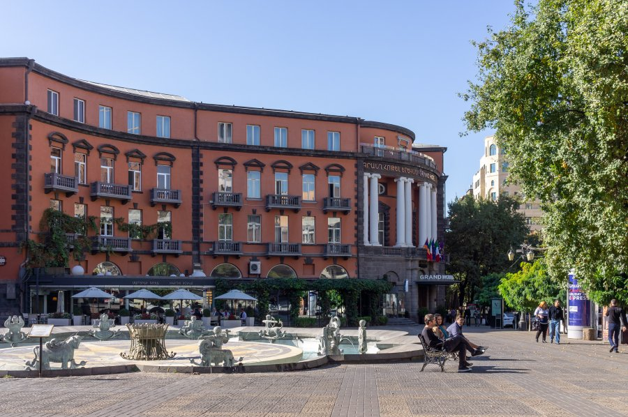 Aznavour square, Yerevan, Arménie