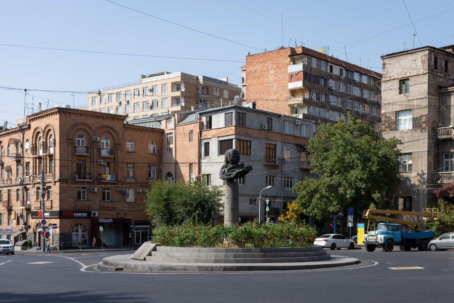 Square Sakharov à Erevan, Arménie