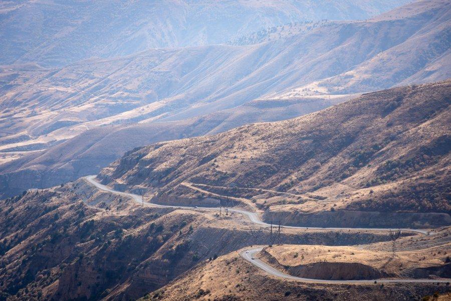 Route de montagne, Selim Pass, Arménie