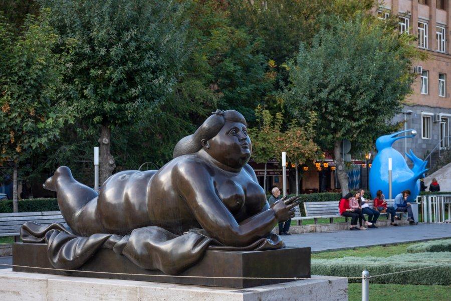 Sculpture de Botero à Erevan, Arménie