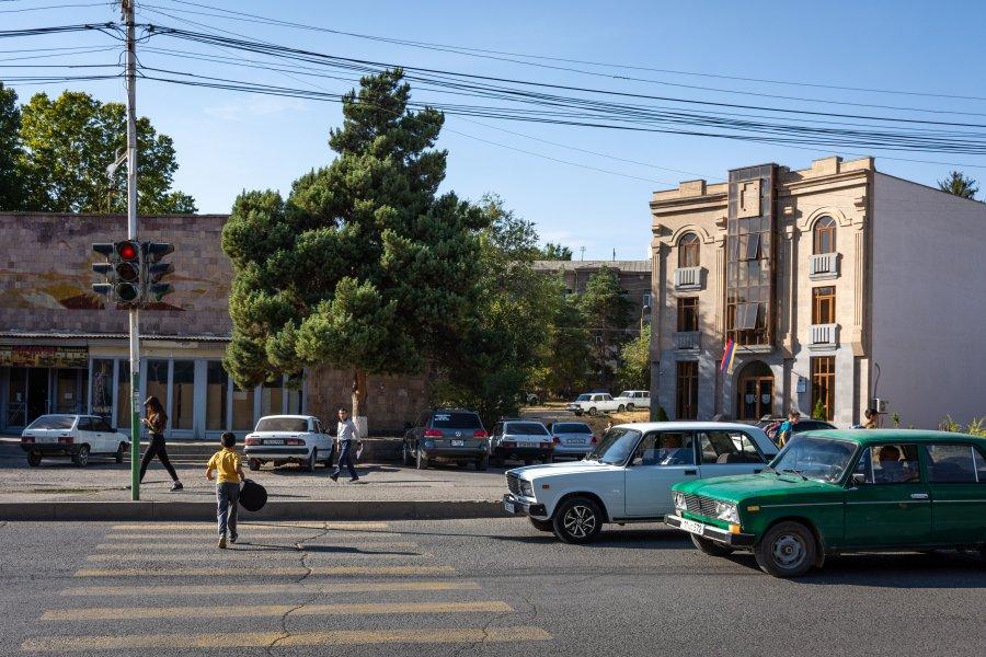 Ville d'Eghegnadzor, Arménie
