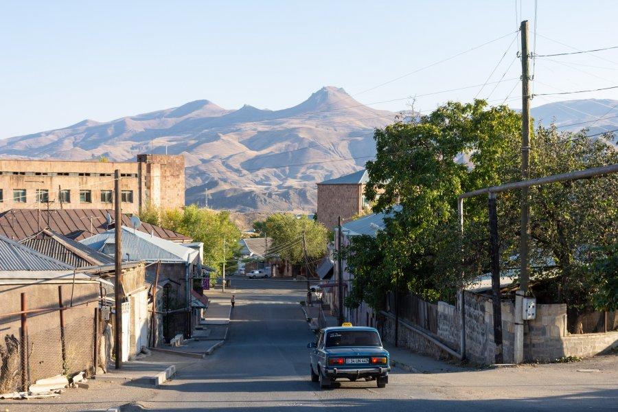 Ville de Yeghegnadzor, Arménie