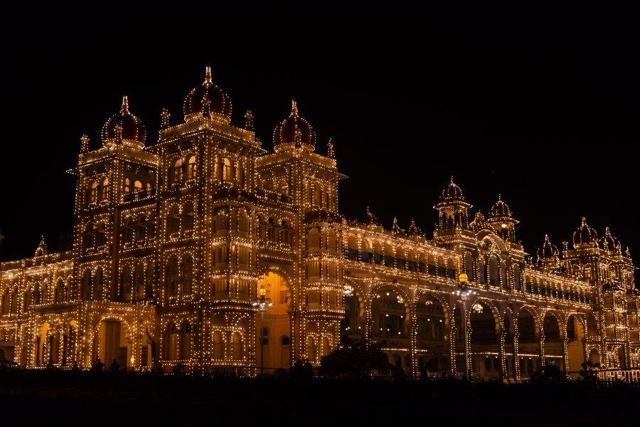 Palais de Mysore, Karnataka, Inde