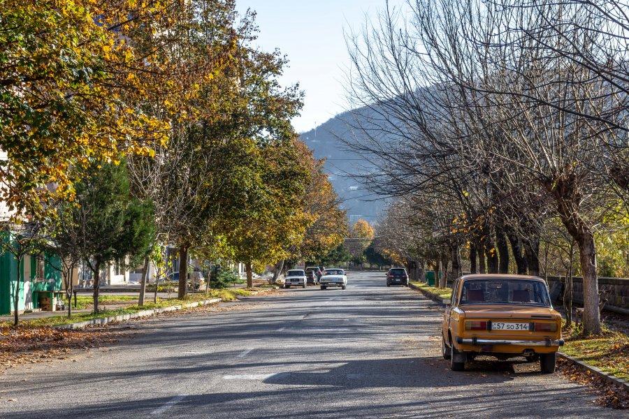 Campagne arménienne à Dilijan, Arménie