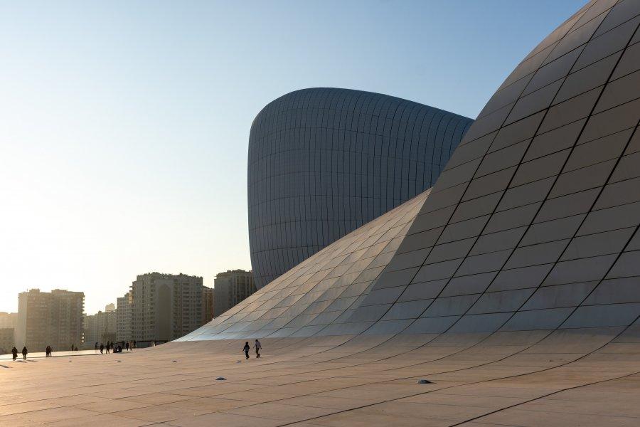 Centre culturel Heydar Aliyev, Bakou, Azerbaïdjan
