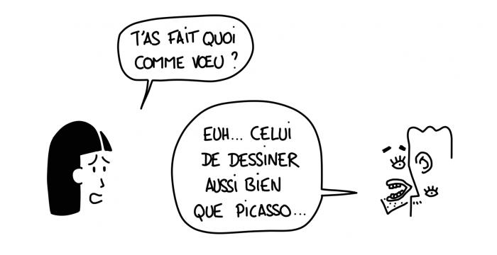 Dessin : je veux dessiner comme Picasso... Ah non !