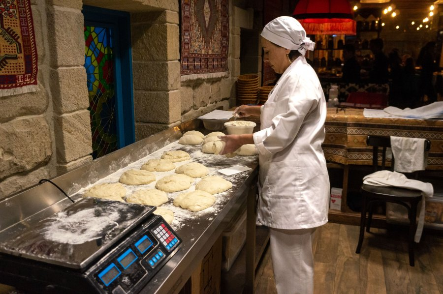 Cuisine pain azeri