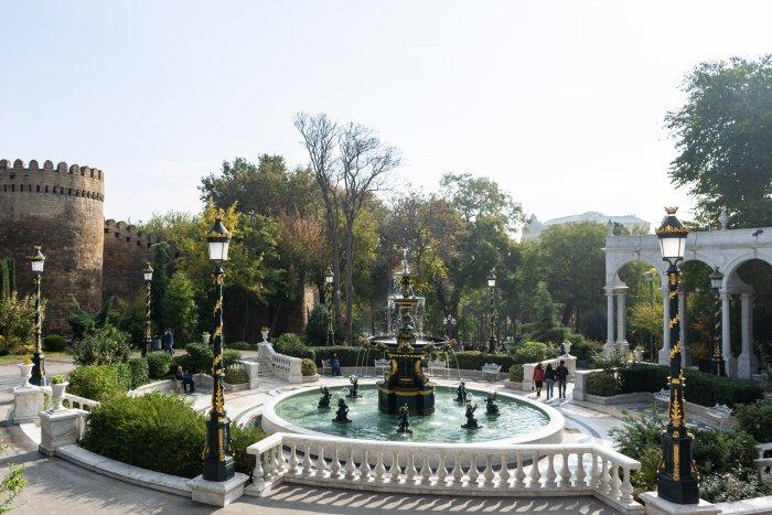 Fontaine de Bakou, Azerbaïdjan