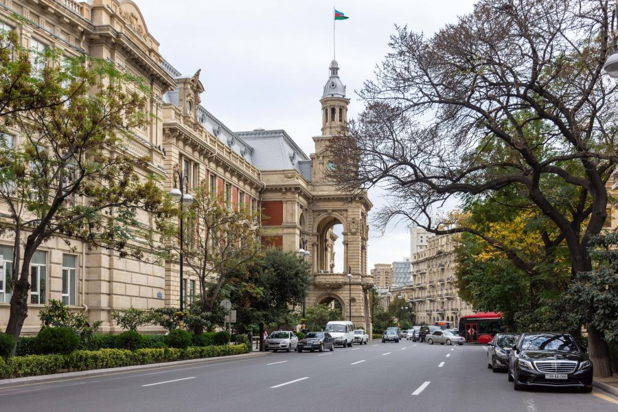 Hôtel de ville de Bakou, Azerbaïdjan