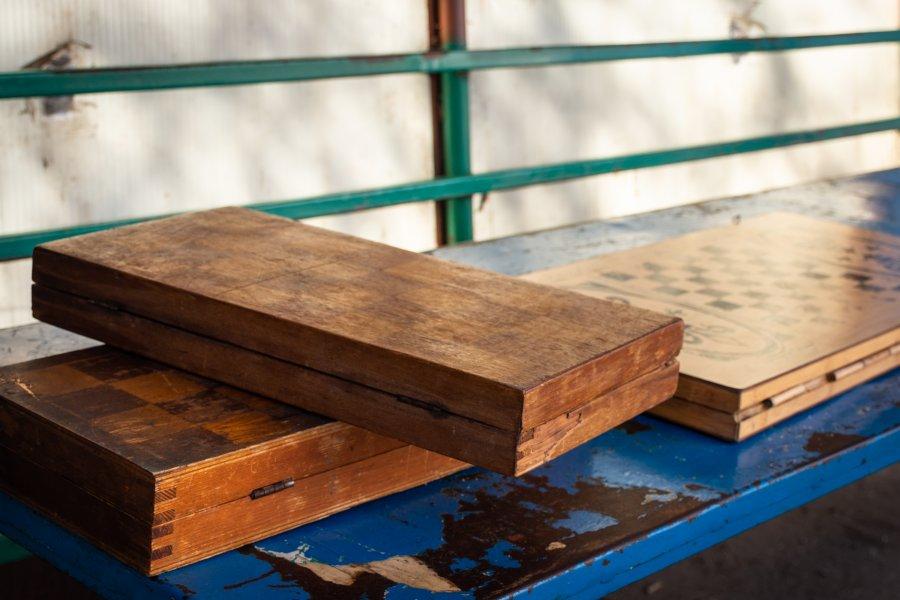 Jeu de backgammon en Arménie
