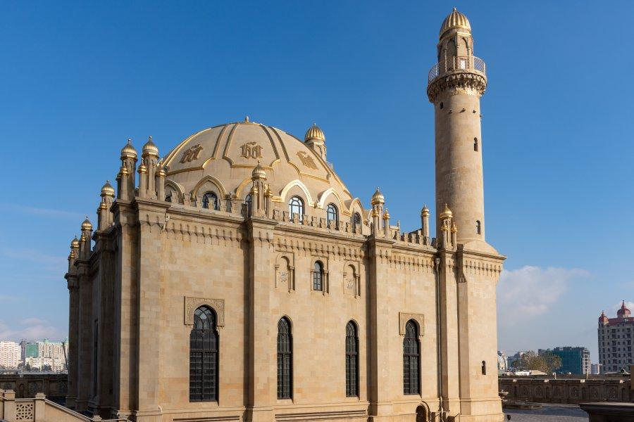 Mosquée Bibi-Heybat à Bakou