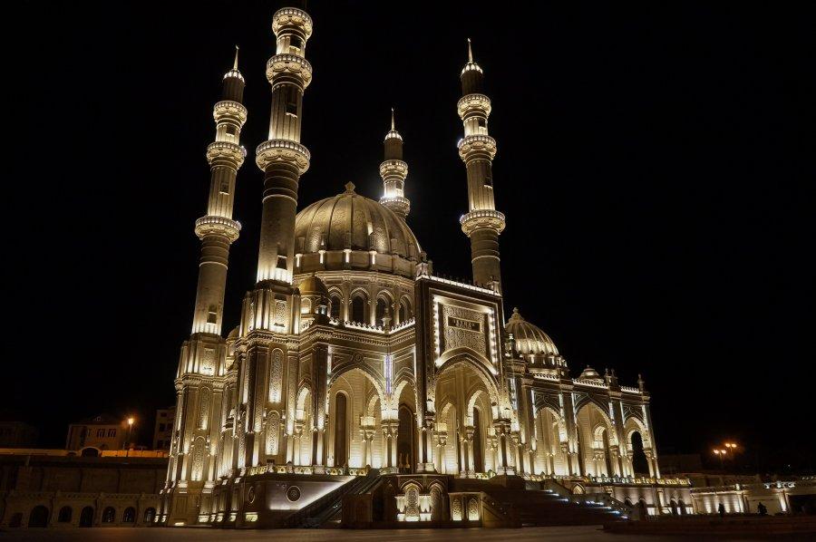 Mosquée Heydar à Bakou, Azerbaïdjan