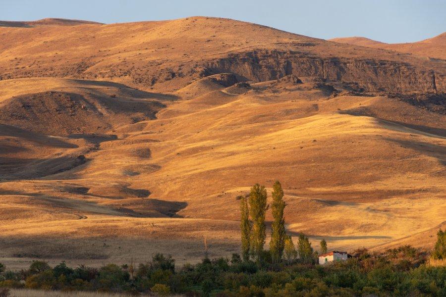 Paysages d'Arménie à l'automne