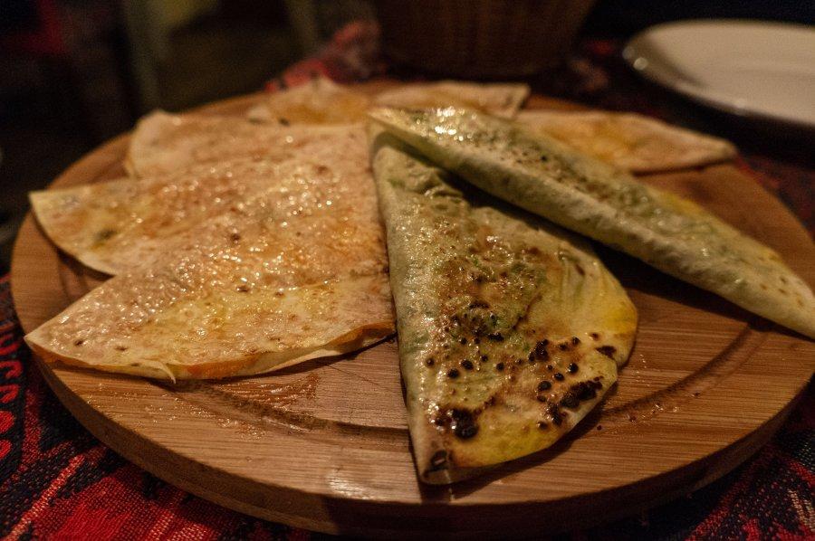Qutabs, cuisine d'Azerbaïdjan