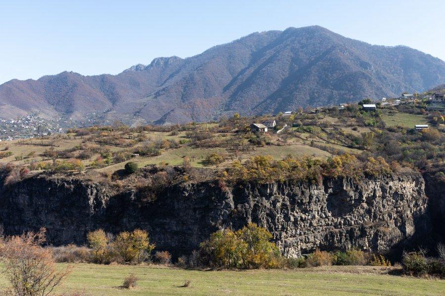 Randonnée entre Sanahin et Haghpat, Alaverdi, Arménie