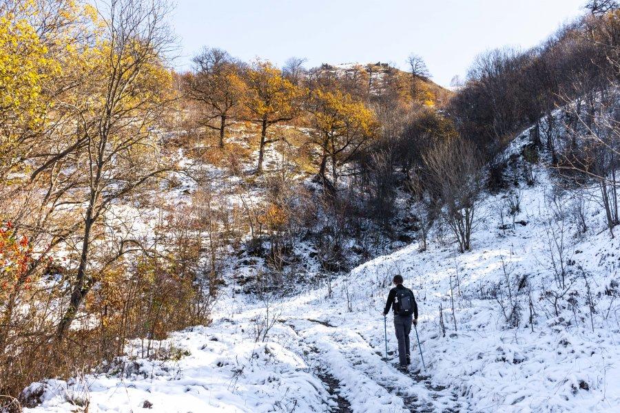 Randonnée dans le parc national de Dilijan, Arménie
