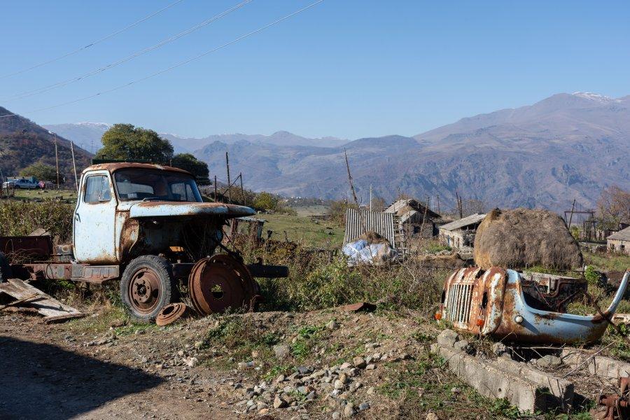 Rouille en Arménie