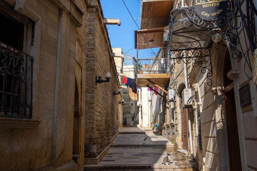 Vieille ville de Bakou, Azerbaïdjan