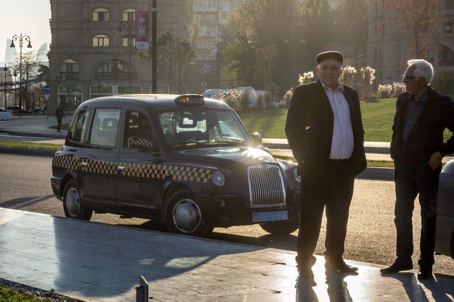 Taxis à Bakou, Azerbaïdjan