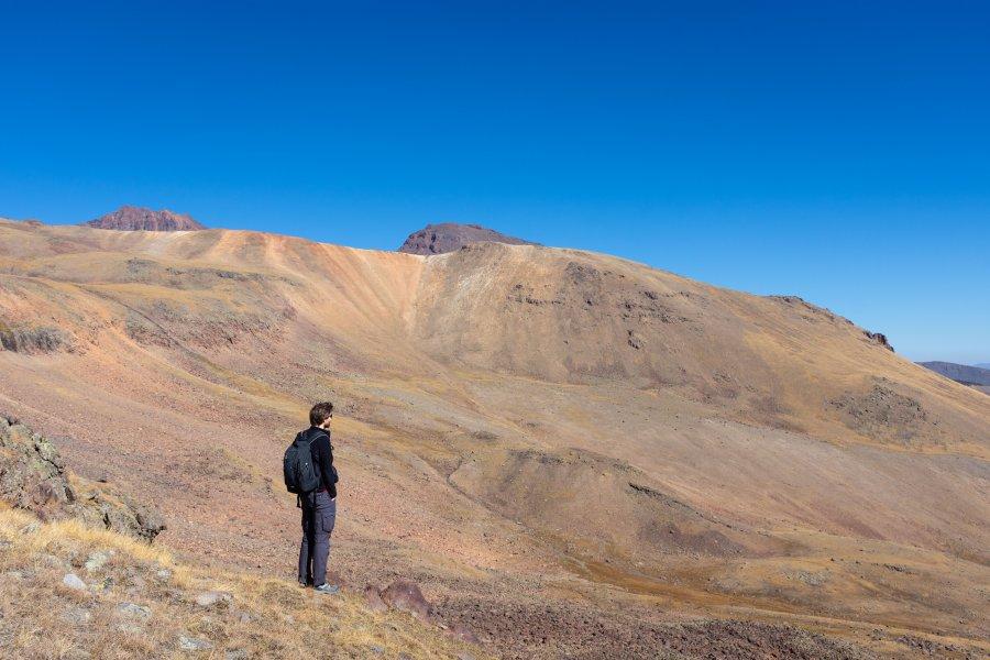 Trekking sur le mont Aragats, Arménie