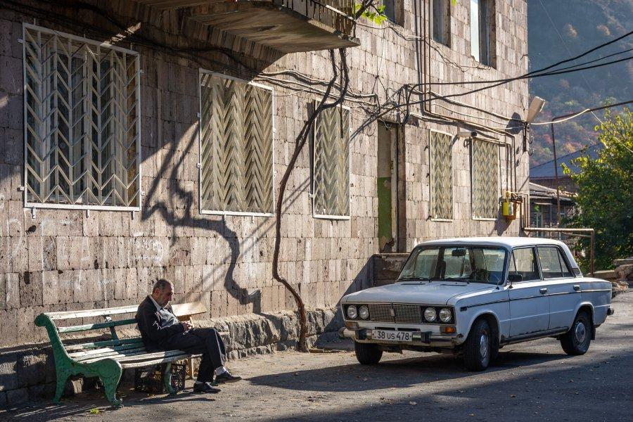 Alaverdi en Arménie, Caucase