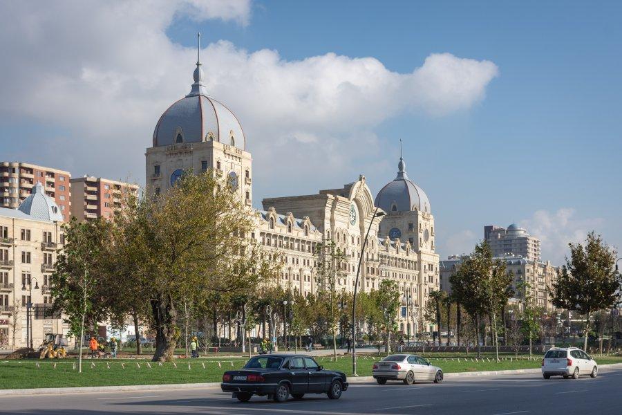 Ville de Bakou en Azerbaïdjan