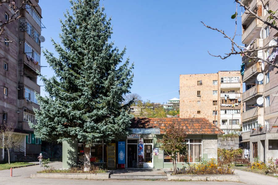 Ville de Dilijan en Arménie