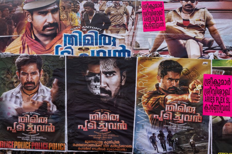 Affiches de films indiens