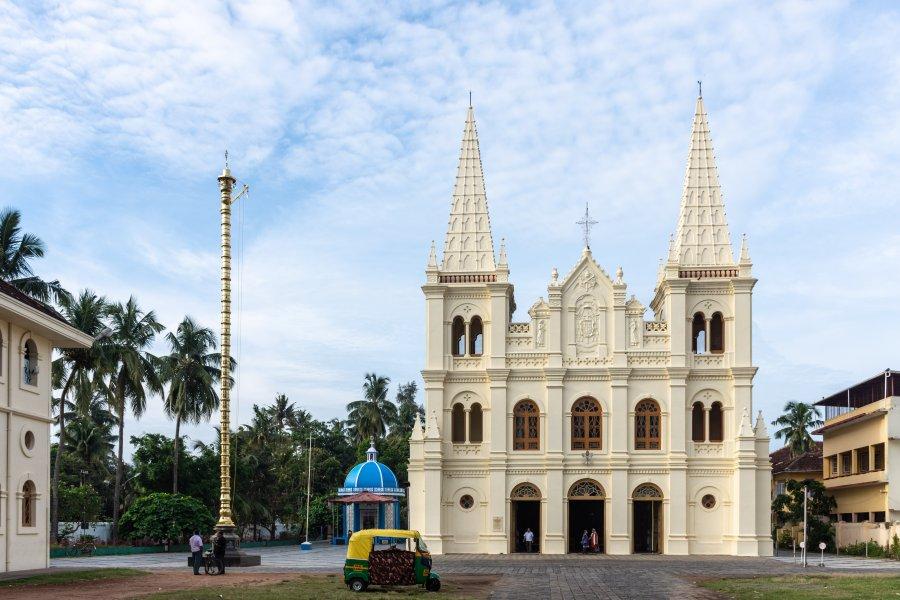 Eglise Saint Francis, Cochin, Kerala, Inde