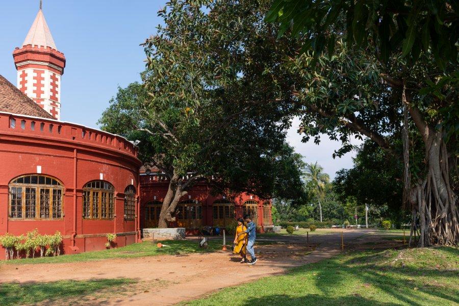 Kanakakunnu palace à Trivandrum, Kerala, Inde