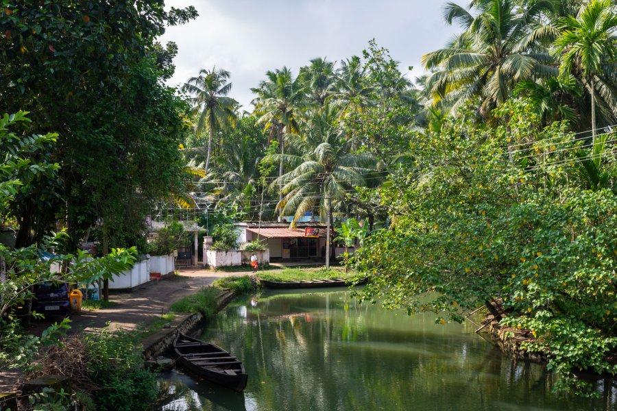 Munroe Island, Quilon, Kerala, Inde du Sud