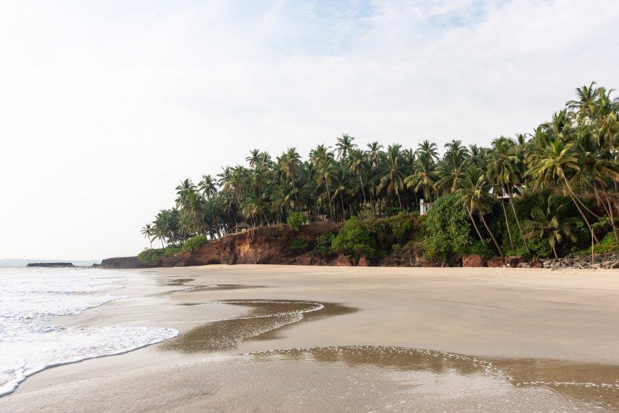 Plage de Kizhunna, Kannur, Kerala