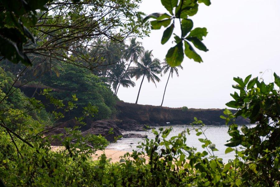 Plage de Thottada, Kannur, Kerala, Inde