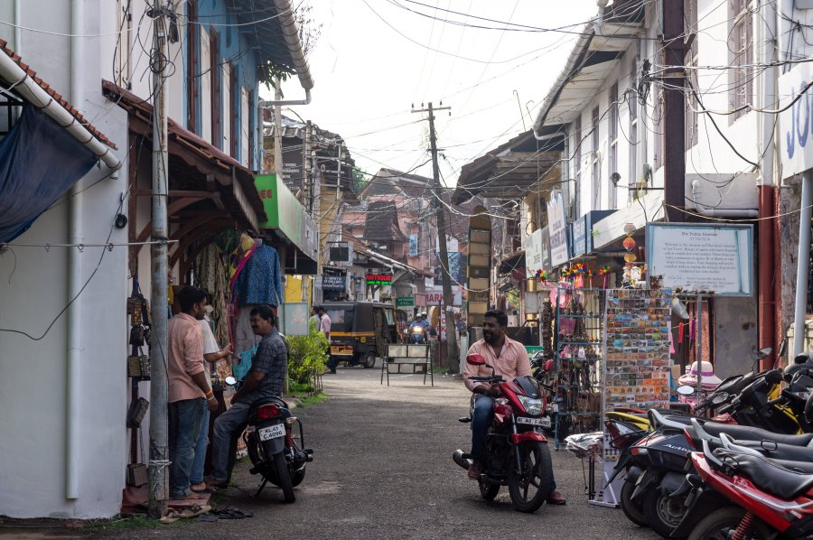 Quartier juif de Cochin, Kerala, Inde du sud