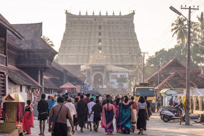 Temple Sree Padmanabhaswamy à Trivandrum