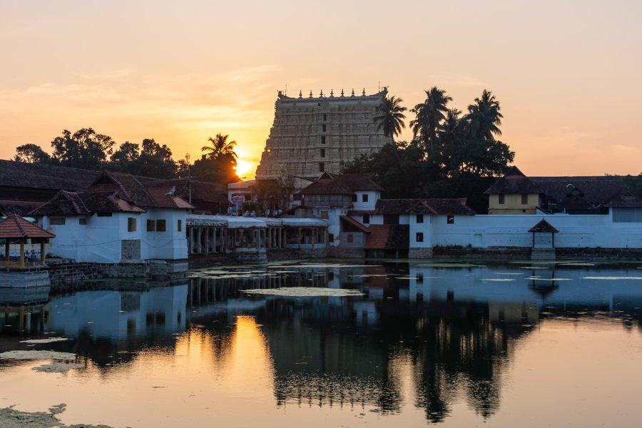 Temple Sree Padmanabhaswamy à Thiruvananthapuram