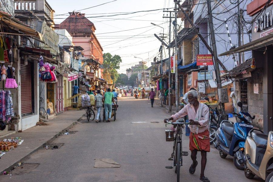 Ville de Thiruvananthapuram, Inde