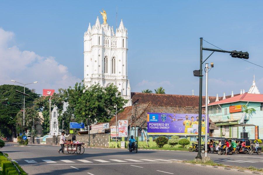 Ville de Thiruvananthapuram, Kerala, Inde