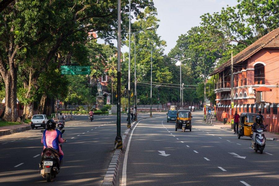 Ville de Trivandrum, Kerala, Inde