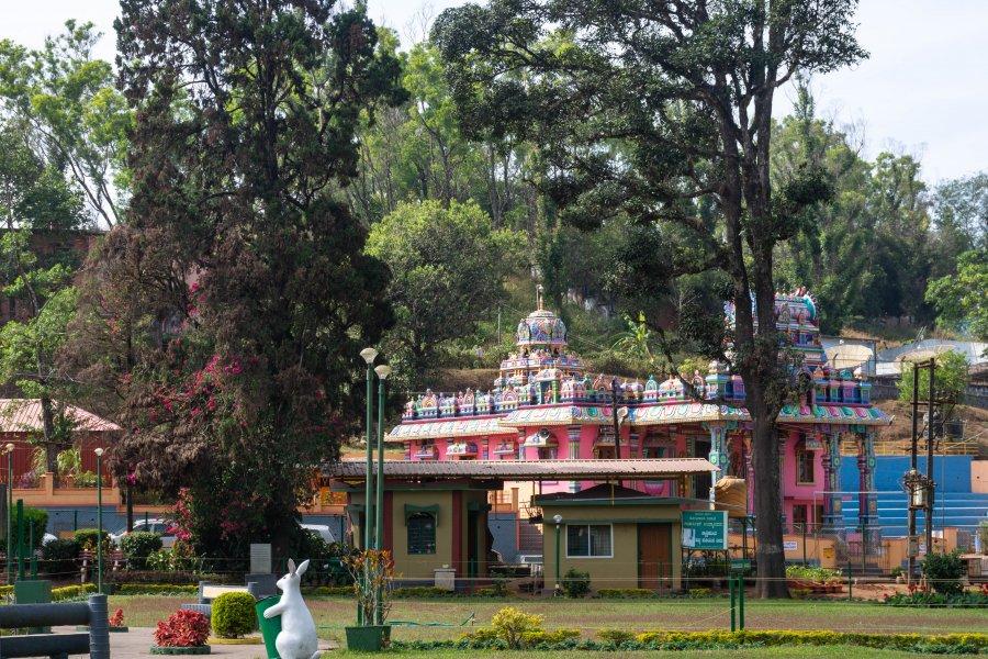 Temple Kundur Motte Sri Chowtti Mariamma, Coorg